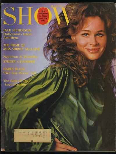 Image for Show, The Magazine of Films and the Arts (May 1971) [cover: Karen Black]