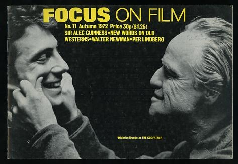 Image for Focus on Film (No. 11, Autumn 1972) [cover: Marlon Brando in THE GODFATHER]