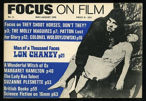 Image for Focus on Film (No. 3, May-August 1970) [cover: Lon Chaney]