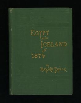 Image for Egypt and Iceland in 1874
