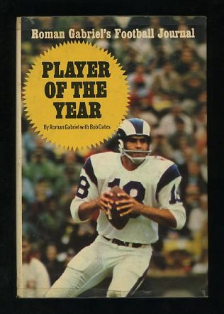 Image for Player of the Year: Roman Gabriel's Football Journal [*SIGNED*]