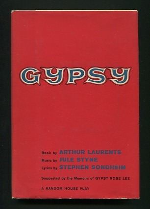 Image for Gypsy; a musical (suggested by the memoirs of Gypsy Rose Lee)