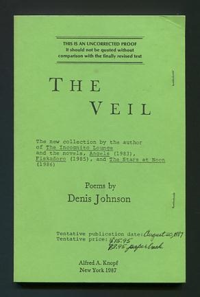 Image for The Veil [uncorrected proof]