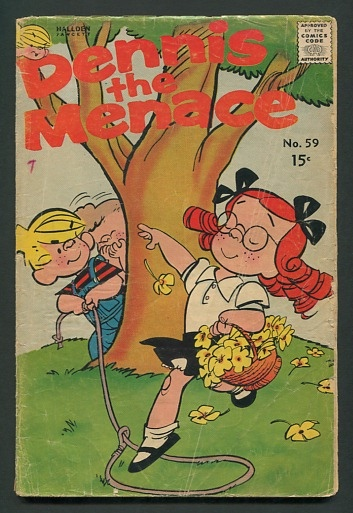 Image for Dennis the Menace (no. 59, May 1962)