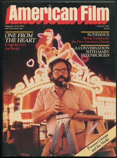 Image for American Film: Magazine of the Film and Television Arts (October 1981) [cover: Francis Ford Coppola]