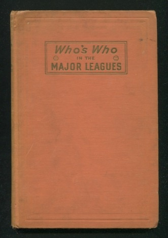 Image for Who's Who in the Major Leagues - 14th Edition, 1946