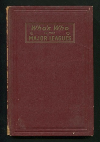 Image for Who's Who in the Major Leagues - Nineteenth Edition, 1951