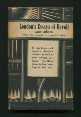 Image for London's Essays of Revolt
