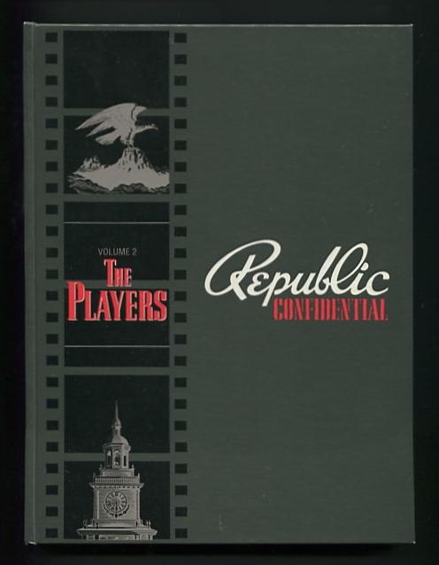 Image for Republic Confidential: Volume 2: The Players