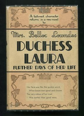 Image for Duchess Laura, Further Days of Her Life