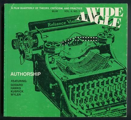 Image for Wide Angle (Vol. 6, No. 1) [topic: Authorship]