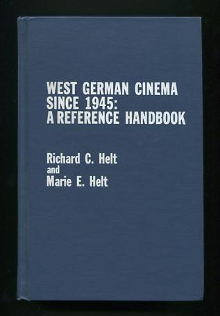 Image for West German Cinema Since 1945: A Reference Handbook