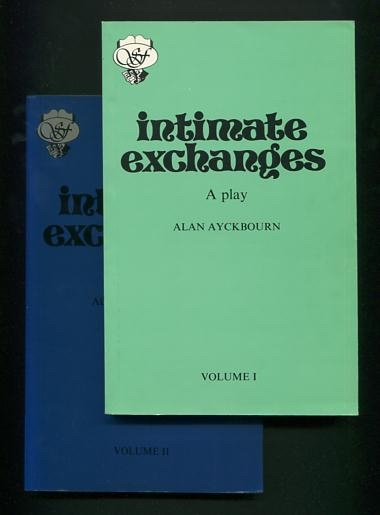 Image for Intimate Exchanges: A Play [Volume I and Volume II]