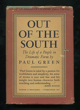 Image for Out of the South: The Life of a People in Dramatic Form