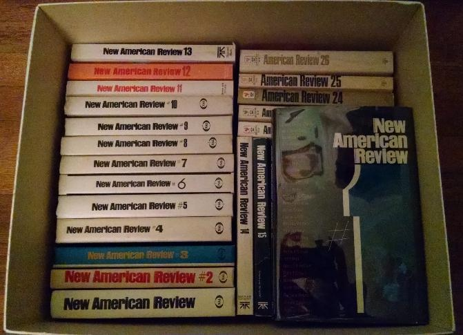 Image for New American Review (issues 1-15) / American Review: The Magazine of New Writing (issues 16-26) [complete set, plus extra volumes]