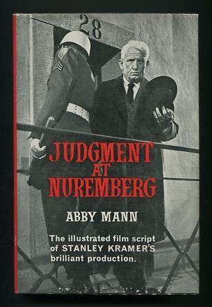 Image for Judgment at Nuremberg: The Script of the Film