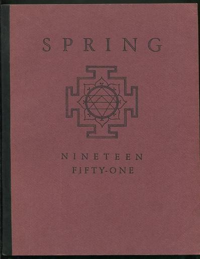 Image for Spring 1951 [on cover: Spring / Nineteen Fifty-One]