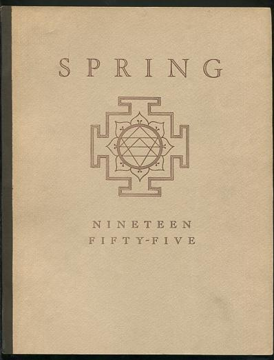 Image for Spring 1955 [on cover: Spring / Nineteen Fifty-Five]