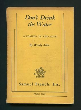 Image for Don't Drink the Water; a comedy in two acts