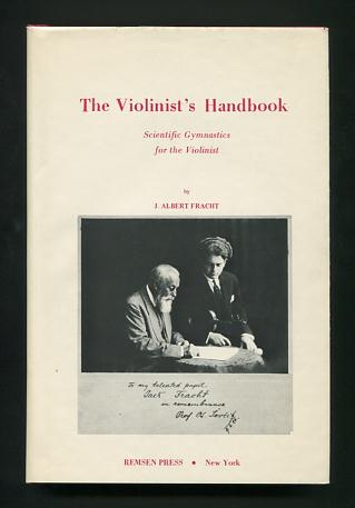 Image for The Violinist's Handbook: Scientific Gymnastics for the Violinist