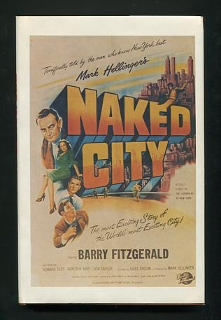 Image for The Naked City: A Screenplay
