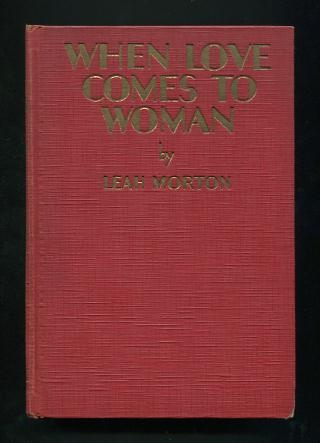 Image for When Love Comes to Woman