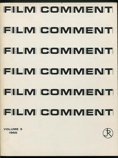 Image for Film Comment - Volume 3 (1965)