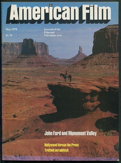 Image for American Film: Journal of the Film and Television Arts [magazine] (May 1978) [cover: John Ford and Monument Valley]