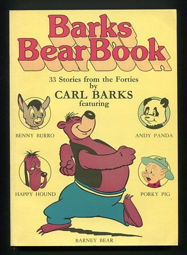 Image for Barks Bear Book: 33 Stories from the Forties