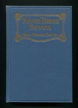 Image for Seven Times Seven: An Autobiography