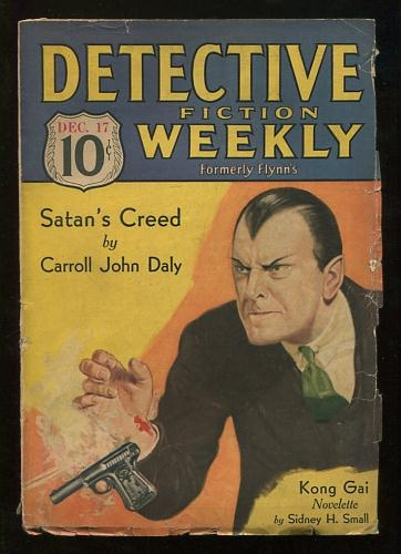Image for Detective Fiction Weekly (December 17, 1932)
