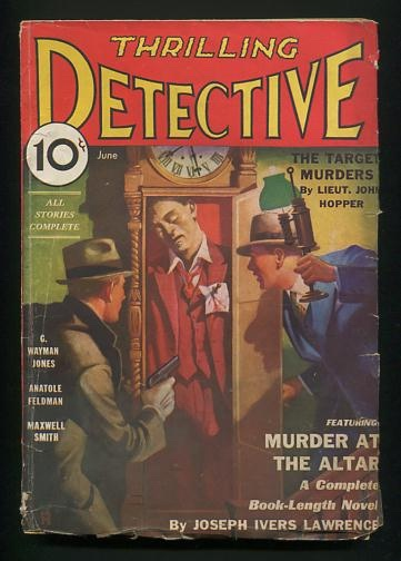 Image for Thrilling Detective (June 1933)