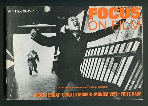 Image for Focus on Film (No. 8, 1971) [cover: THE FRENCH CONNECTION]