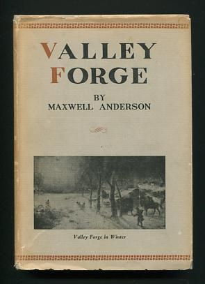 Image for Valley Forge; a play in three acts