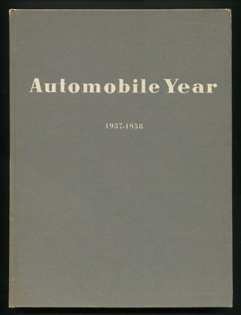 Image for Automobile Year: 1957-1958; No. 5