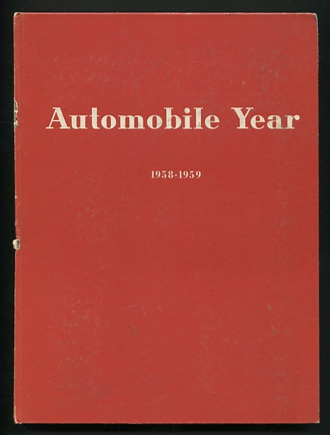 Image for Automobile Year: No. 6 Edition 1958-59 [cover title: Automobile Year 1958-1959]
