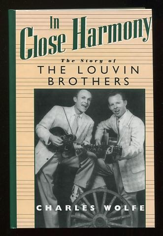 Image for In Close Harmony: The Story of the Louvin Brothers