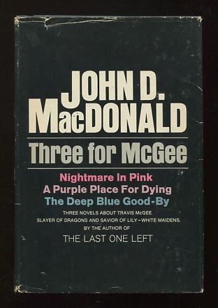 Image for Three for McGee [containing: Nightmare in Pink; A Purple Place for Dying; The Deep Blue Good-by]