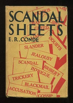 Image for Scandal Sheets: A Novel Based on the Life of Pietro Aretino, The First Yellow Journalist
