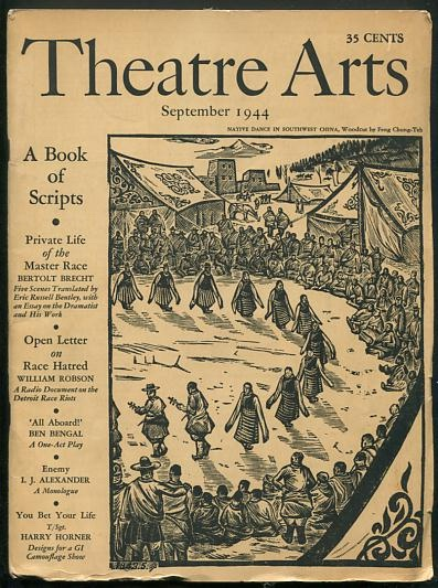 "Image for ""The Private Life of the Master Race"" (in Theatre Arts, issue of September 1944)"