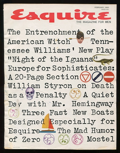"""The Night of the Iguana"" (in Esquire: The Magazine for Men, issue of February 1962)"