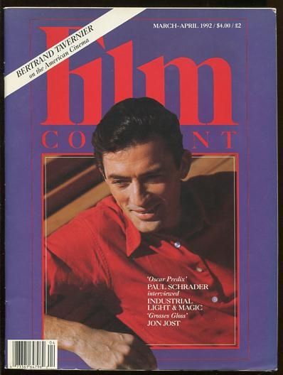 Image for Film Comment (March-April 1992) [cover: Gregory Peck]