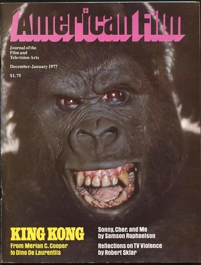 Image for American Film: Journal of the Film and Television Arts [magazine] (December-January 1977) [cover: KING KONG]