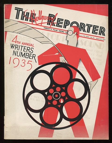 Image for The Hollywood Reporter (March 30, 1935, Section 2): 4th Annual Writers Number 1935