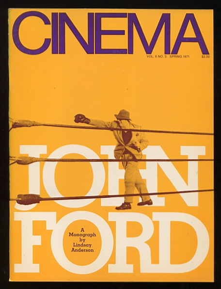Image for Cinema [magazine] (Spring 1971) [with special John Ford section]