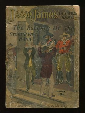 Image for Jesse James' Desperate Game; or, The Robbery of the Ste. Genevieve Bank