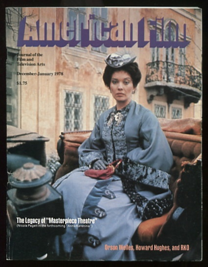"Image for American Film: Journal of the Film and Television Arts [magazine] (December-January 1978 [cover: Nicola Pagett in ""Anna Karenina""]"