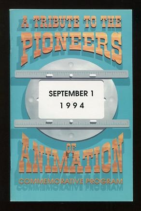 Image for A Tribute to the Pioneers of Animation: Commemorative Program [*SIGNED* by 26 noted figures of the animation world]