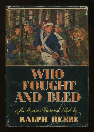 Image for Who Fought and Bled