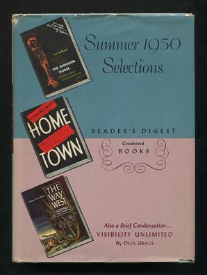 Image for Reader's Digest Condensed Books: Summer 1950 Selections (Volume II) [The Wooden Horse; Home Town; Visibility Unlimited; The Way West]